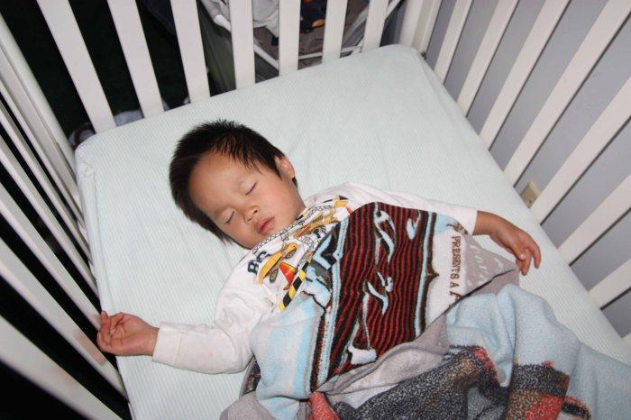 sleeping through egg dying..smart momma.